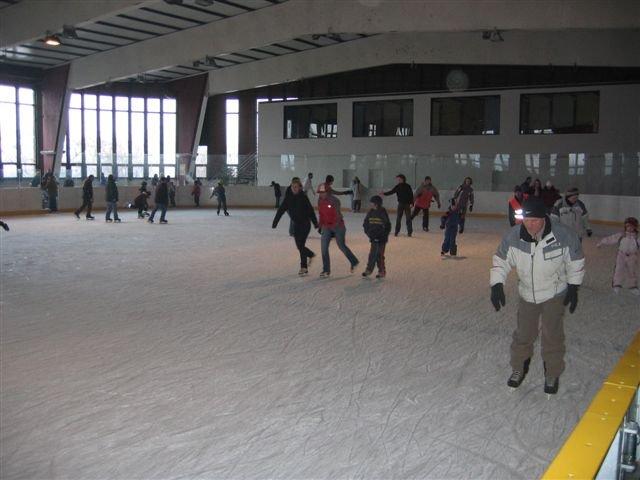 Veřejné bruslení na zimním stadionu Kobra Praha