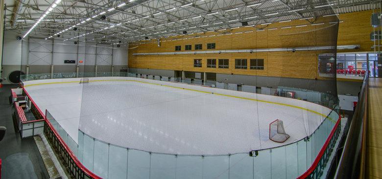 Ledová plocha v KV Aréně v Karlových Varech